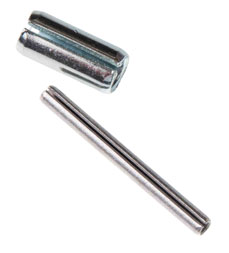 Double HH Slotted Spring Pin