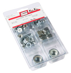 Double HH Lock Nut Assortment