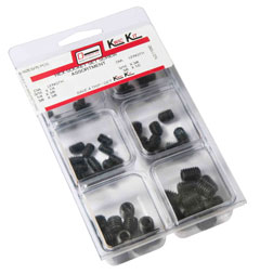 Double HH Hex Socket Set Screw Assortment